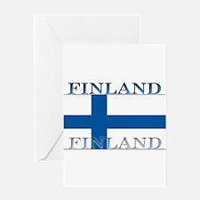 Finland.jpg Greeting Card