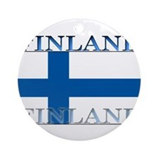 Finland.jpg Ornament (Round)