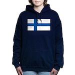Finlandblank.jpg Women's Hooded Sweatshirt