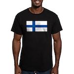 Finlandblank.jpg Men's Fitted T-Shirt (dark)