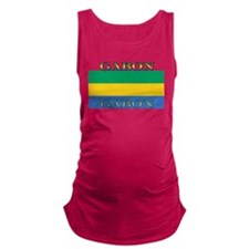 Gabon.png Maternity Tank Top