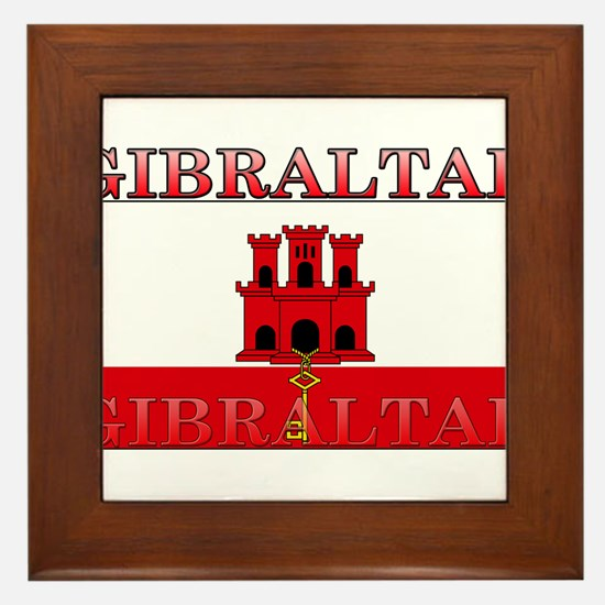 Gibraltar.jpg Framed Tile