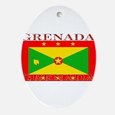 Grenada.jpg Ornament (Oval)