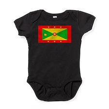 Grenadablackblank.png Baby Bodysuit