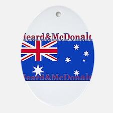 HeardMcDonald.png Ornament (Oval)