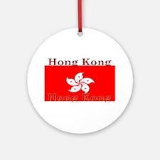 HongKong.jpg Ornament (Round)