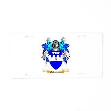 Gabrielsson Aluminum License Plate