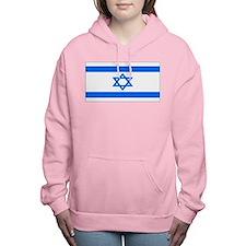 Israel black blank.png Women's Hooded Sweatshirt