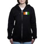 IvoryCoastblank.jpg Women's Zip Hoodie