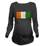 IvoryCoastblank.jpg Long Sleeve Maternity T-Shirt