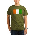 IvoryCoastblank.jpg Organic Men's T-Shirt (dark)