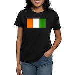 IvoryCoastblank.jpg Women's Dark T-Shirt