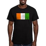 IvoryCoastblank.jpg Men's Fitted T-Shirt (dark)
