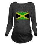 Jamaica.jpg Long Sleeve Maternity T-Shirt