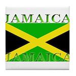 Jamaica.jpg Tile Coaster