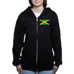 Jamaicablank.jpg Women's Zip Hoodie