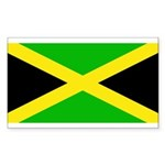 Jamaicablank.jpg Sticker (Rectangle 50 pk)