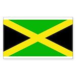 Jamaicablank.jpg Sticker (Rectangle 10 pk)