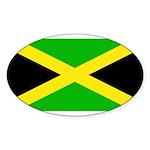 Jamaicablank.jpg Sticker (Oval 50 pk)