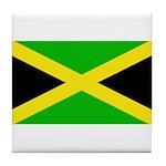 Jamaicablank.jpg Tile Coaster