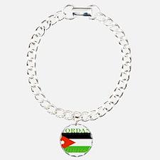 Jordanblack.png Charm Bracelet, One Charm
