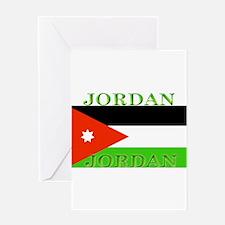 Jordanblack.png Greeting Card