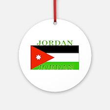 Jordanblack.png Ornament (Round)