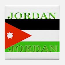 Jordanblack.png Tile Coaster