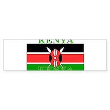 Kenyablack.png Bumper Sticker