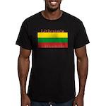 Lithuania.jpg Men's Fitted T-Shirt (dark)