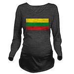 Lithuaniablank.jpg Long Sleeve Maternity T-Shirt