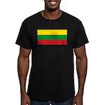Lithuaniablank.jpg Men's Fitted T-Shirt (dark)