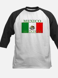 Mexicoblack.png Kids Baseball Jersey