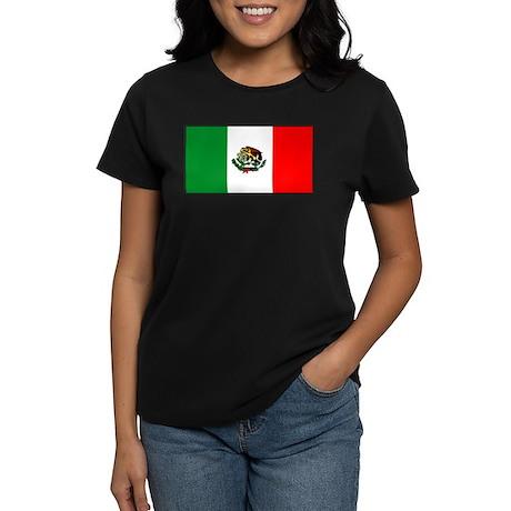 Mexicoblank.jpg Women's Dark T-Shirt