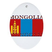 Mongolia.jpg Ornament (Oval)