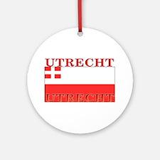 Utrecht.png Ornament (Round)