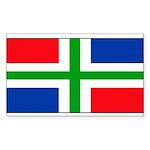 Groningenblank.jpg Sticker (Rectangle 10 pk)