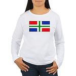 Groningenblank.jpg Women's Long Sleeve T-Shirt
