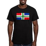 Groningenblank.jpg Men's Fitted T-Shirt (dark)