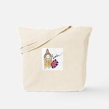 Funny London england Tote Bag