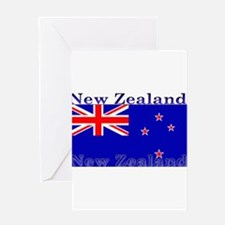 NewZealandblack.png Greeting Card