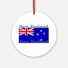 NewZealandblack.png Ornament (Round)