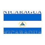 Nicaragua.jpg 35x21 Wall Decal