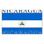 Nicaragua.jpg Sticker (Rectangle 10 pk)
