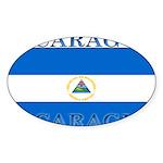 Nicaragua.jpg Sticker (Oval 10 pk)