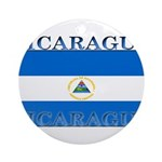 Nicaragua.jpg Ornament (Round)