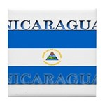 Nicaragua.jpg Tile Coaster