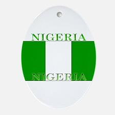 Nigeria.jpg Ornament (Oval)