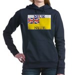 Niue.jpg Women's Hooded Sweatshirt