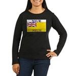 Niue.jpg Women's Long Sleeve Dark T-Shirt